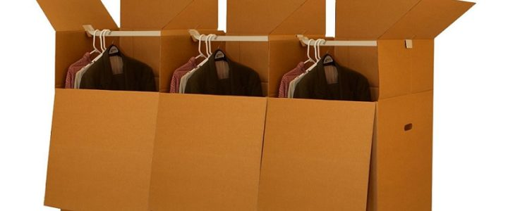 How to Use Wardrobe Boxes While Moving