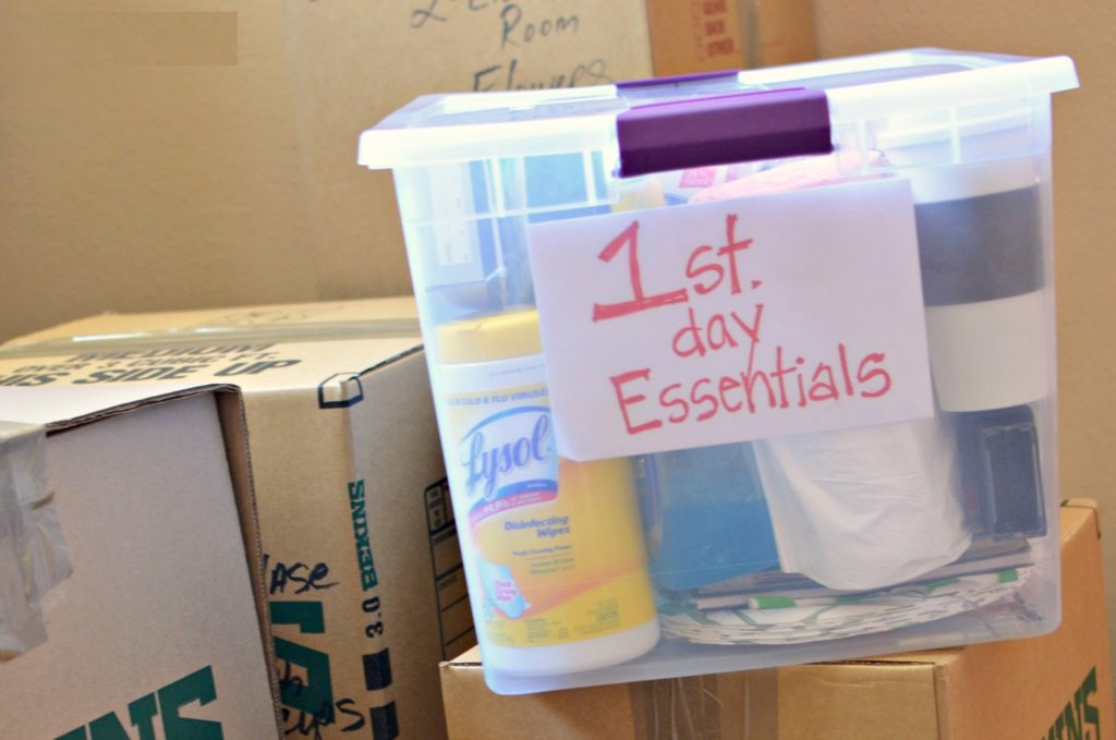 Moving Day Survival Kit - Edmonton Movers