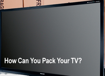 Edmonton Moving Tips: How to Pack Your TV for Moving Guide