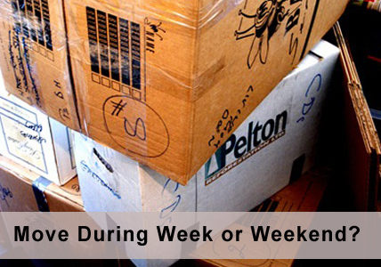 Edmonton Moving Tips: Moving During the Week vs. During the Weekend