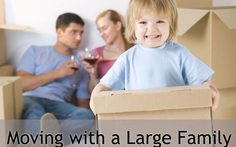 Edmonton Moving Tips: How to Move with a Large Family