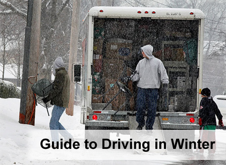 Moving in Winter Conditions - Edmonton Movers